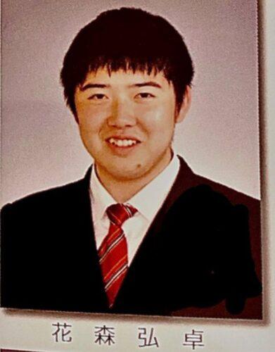 花森弘卓,高校